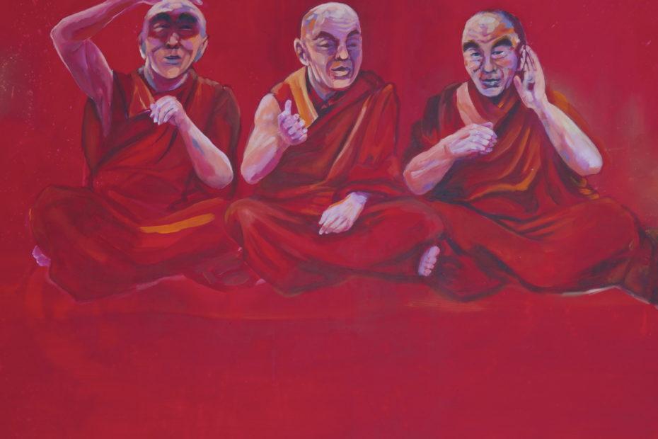 3 Dalai Lamas ©️Florian Hussl